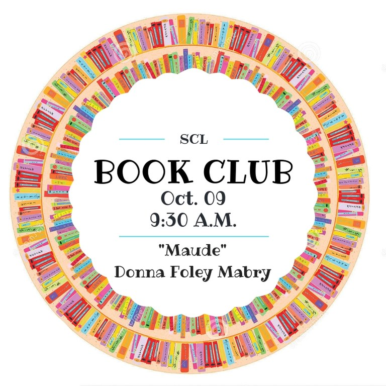 Oct. Book Club Selection